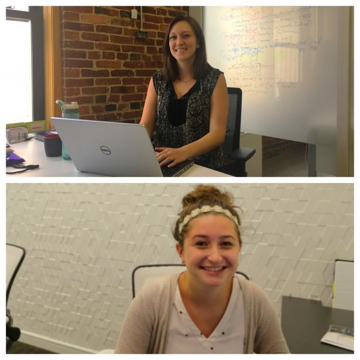 2017 Interns Nikki and Katie