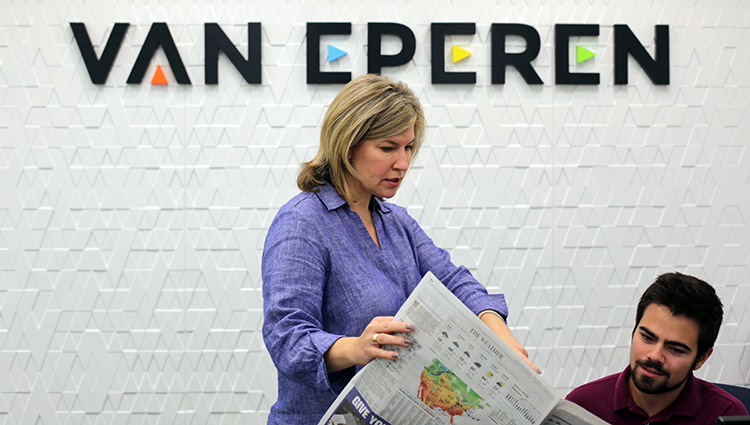 Laura Van Eperen - The Daily Record - Profile - Most Admired CEO