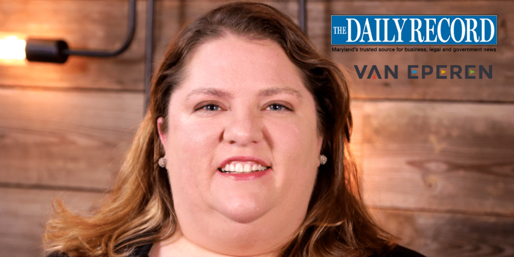 Van Eperen's Emily McDermott Named a 2019 VIP by The Daily Record • Baltimore