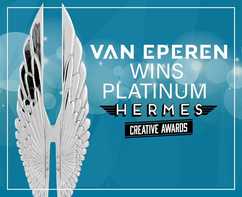 Van Eperen Wins Hermes International Platinum Creative Award For AGU Climate Policy Report • Public Relations